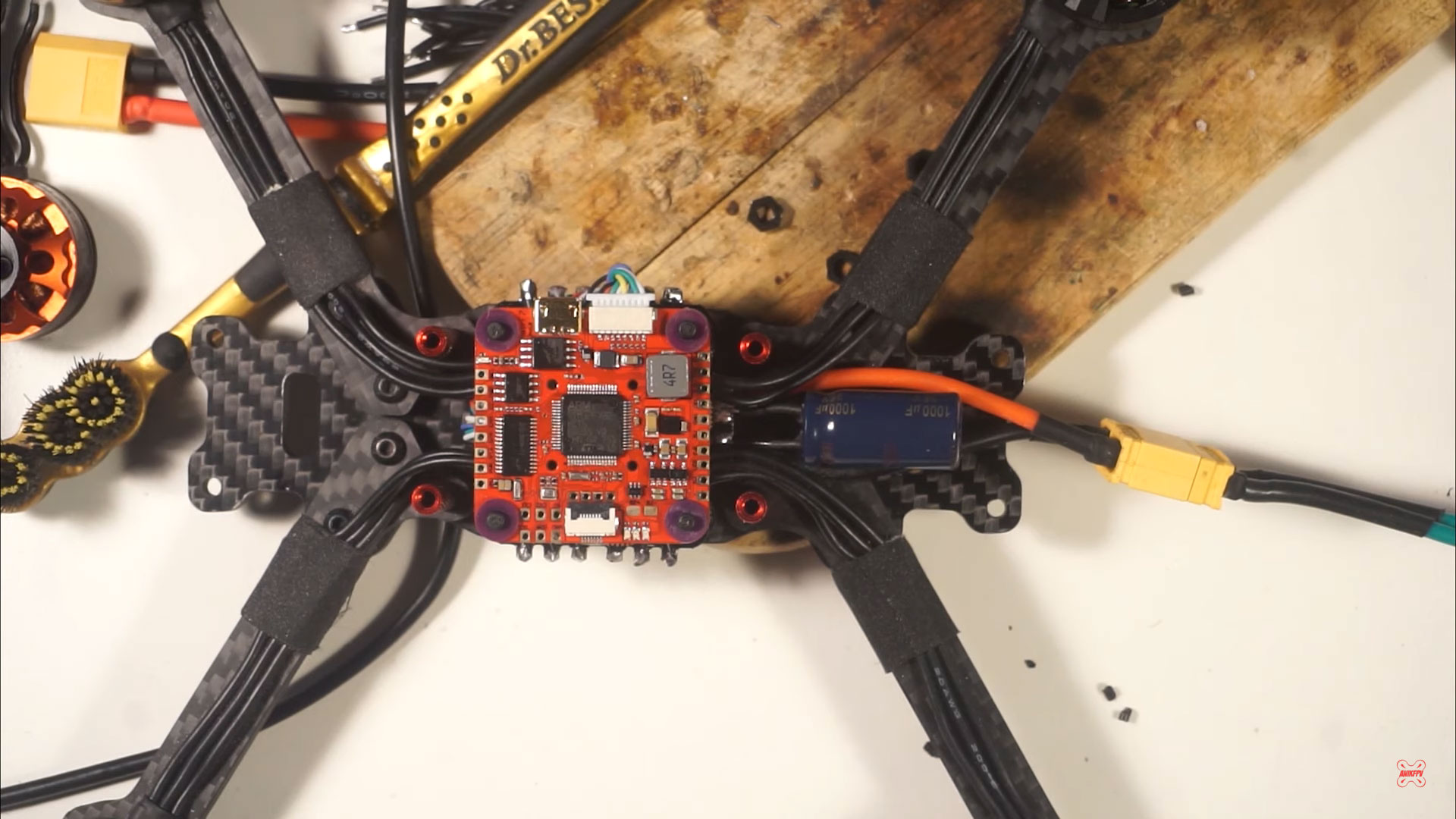Assembling a cheap freestyle copter for beginners